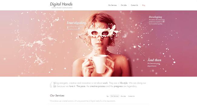 Digital Hands | Online Brand Communication