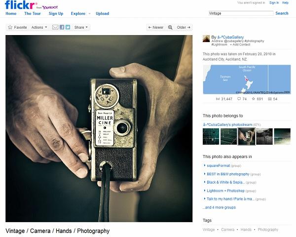 site do flickr