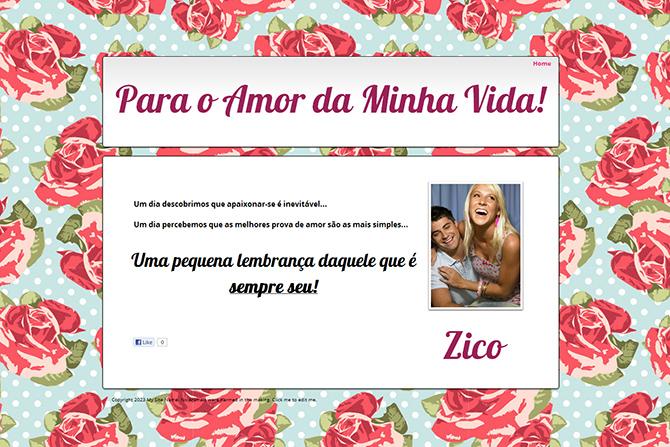 Promoção Wix Dia dos Namorados