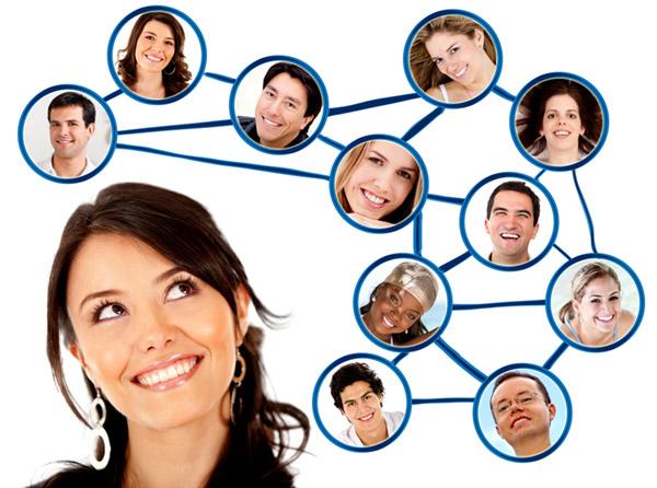 Uma rede de contatos pode ser a diferença entre um um emprego e um bom emprego.