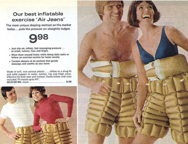 Jeans inflável