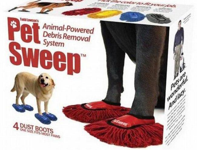 Escovão pra cachorro