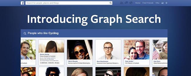 O novo Graph Search melhorou a ferramenta de pesquisa do Facebook.