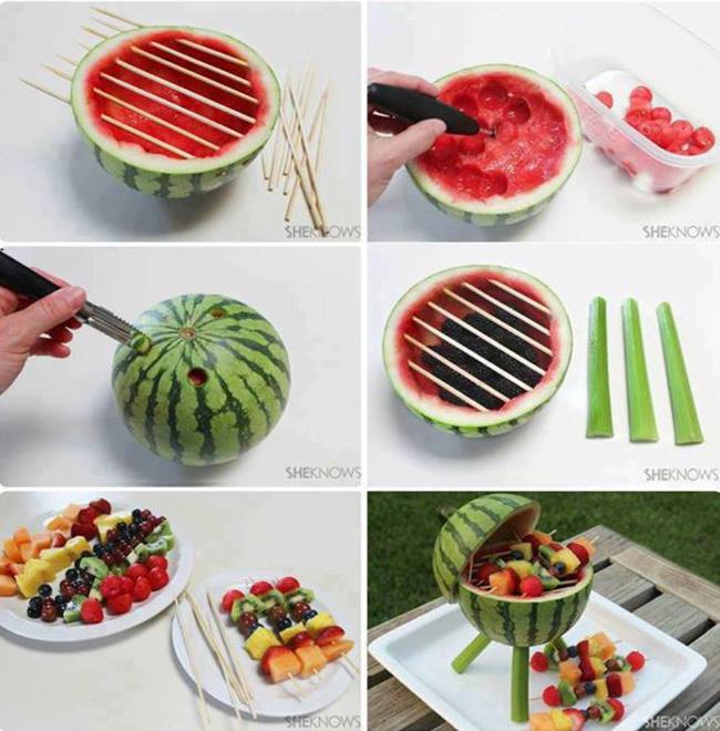 sobremesa de melancia