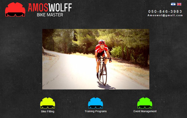 Amos Wolff - Personal Trainer de Ciclismo