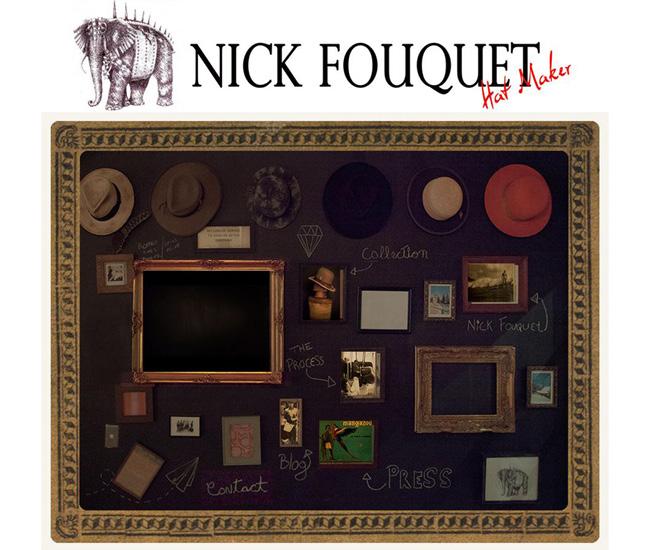 Nick Fouquet - Chapeleiro Tradicional