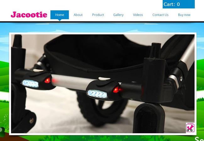 Jacootie Light - Luzes de Segurança para Carrinhos de Bebê