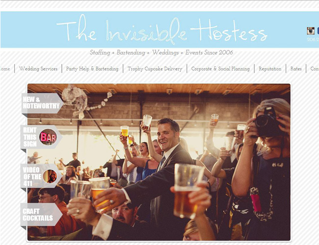 The Invisible Hostess - Planejamento de Eventos Personalizados