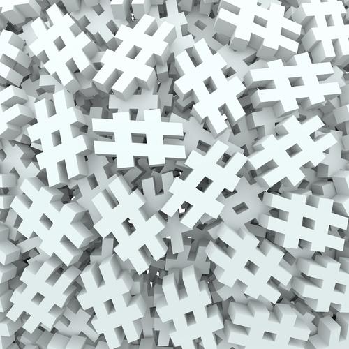 Usar as hashtags corretamente é um recurso muito eficiente.