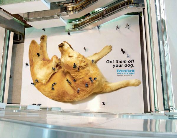 Anti-pulgas Frontline - Tapete de Shopping