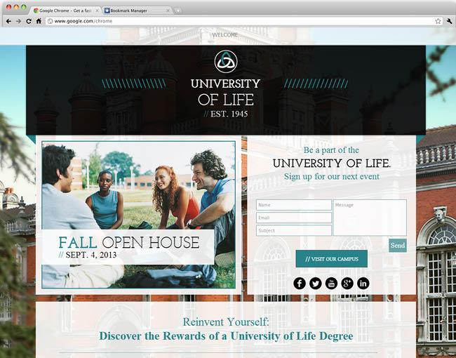 Universidade e Faculdade
