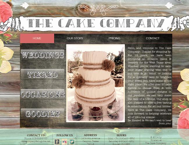 The Cake Company >>