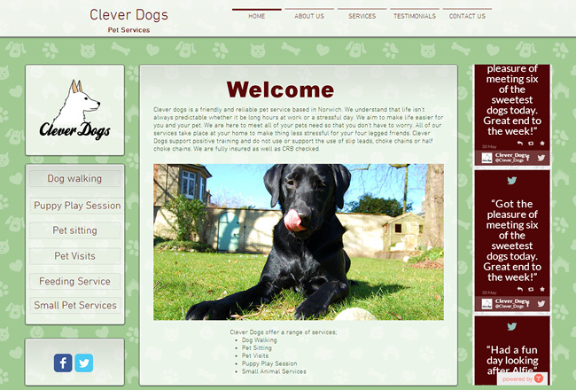 Clever Dog Services >>