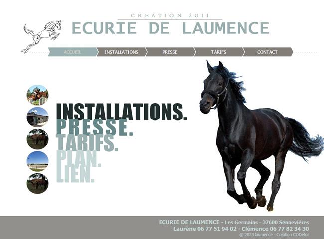 Ecurie de Laurence >>