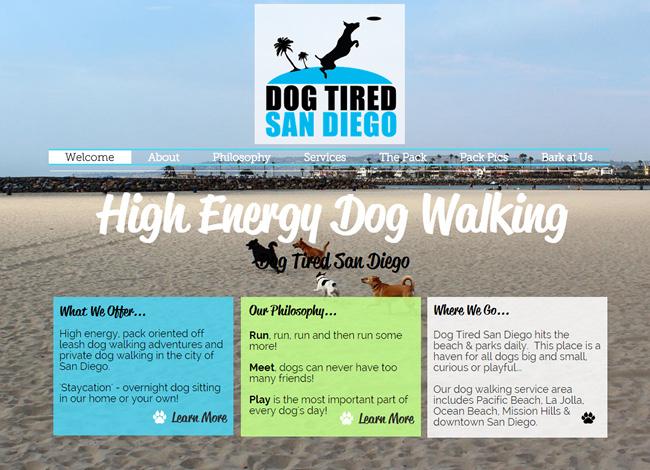 Dog Tired San Diego