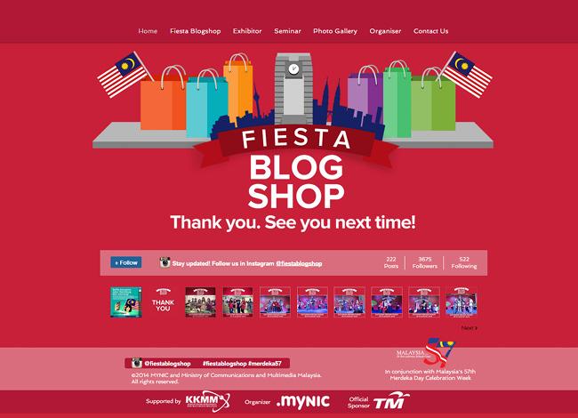 Fiesta Blog Shop