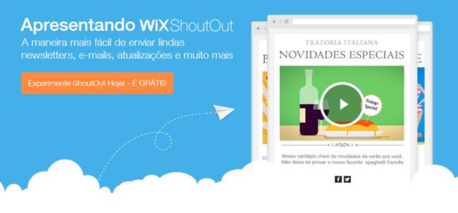 Wix ShoutOut