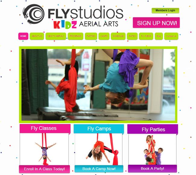 Fly Studios – Artes Aéreas para Crianças >>