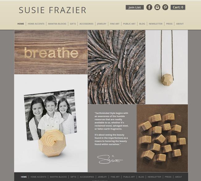 Susie Frazier – Joias Recicladas >>