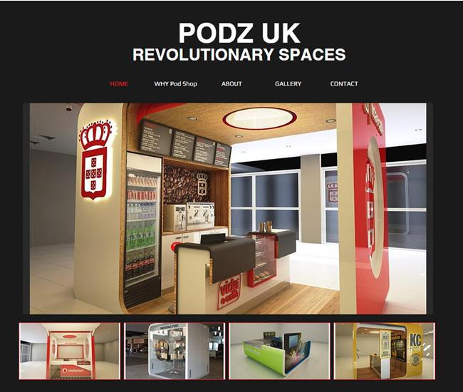 Podz UK – Espaços Revolucionários >>