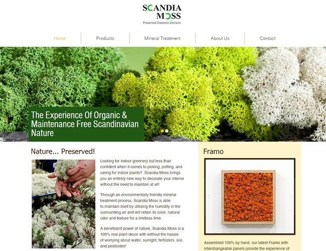 Scandia Moss – Flores Escandinavas >>