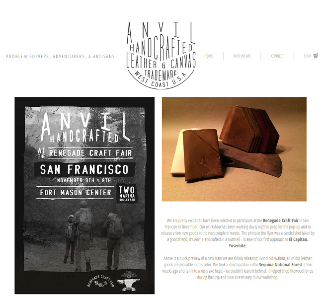 Anvil Hand Crafted >>
