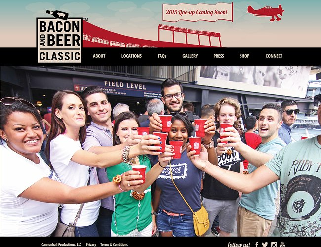 Bacon and Beer Classic >>