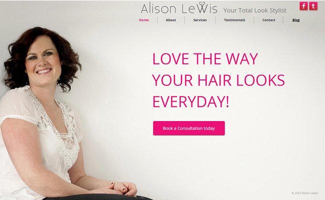 Alison Lewis Hair >>