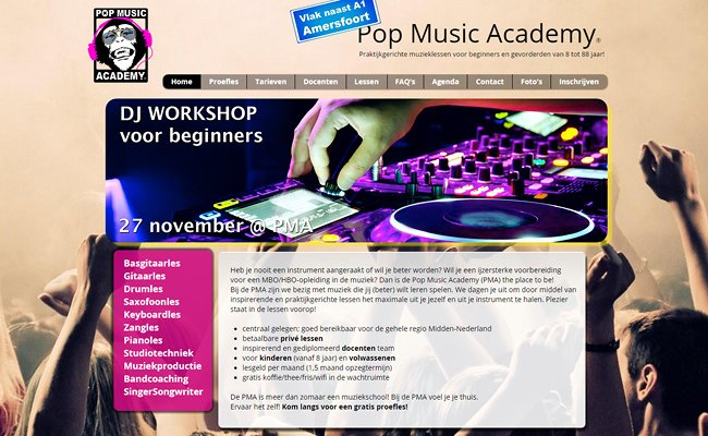 Pop Music Academy >>