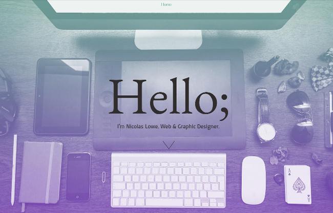 Portfólio de Designer Gráfico