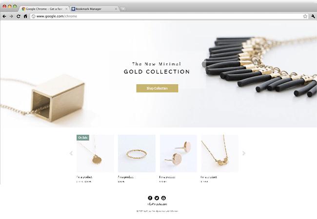 Wix - Jewelry Designer Website
