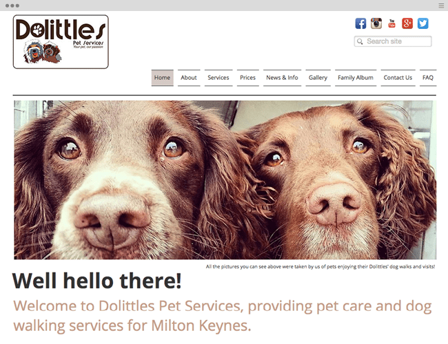 Dolittles Pet Services