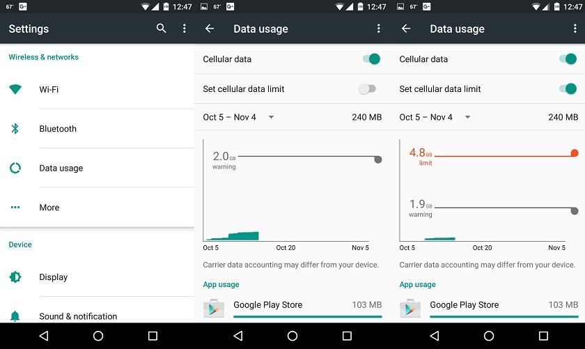 Controle Seu Uso de Dados
