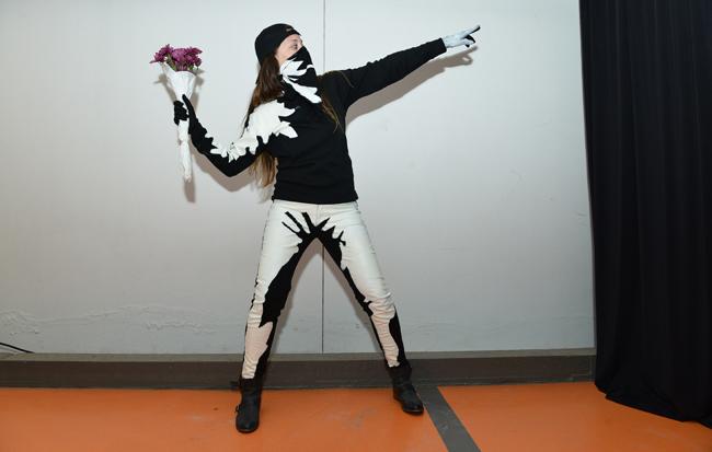 Banksy, para quem quer se fantasiar e protestar ao mesmo tempo