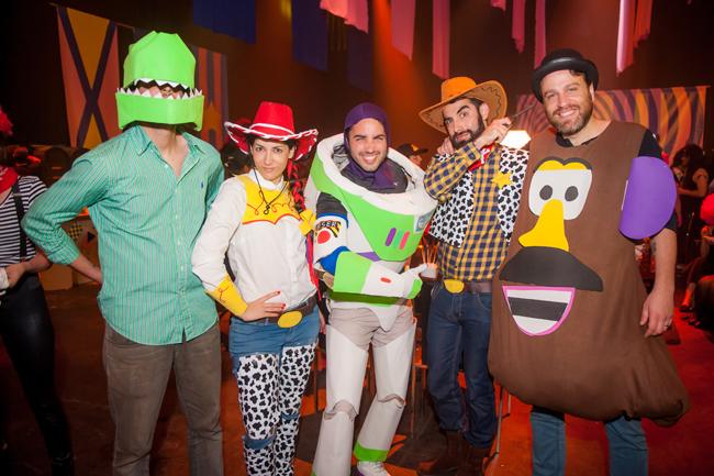 Toy Story é legal, mas pode acabar em briga pra decidir quem fica com qual personagem...