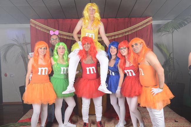 Tem M&M's de quantas cores?