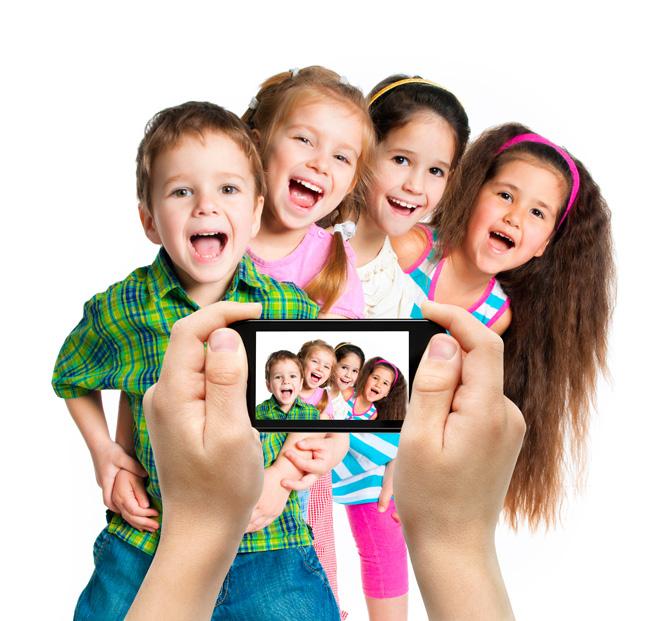 Smartphone e crianças