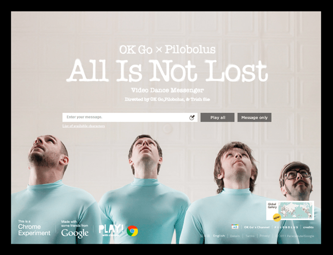 OK Go - All Is Not Lost