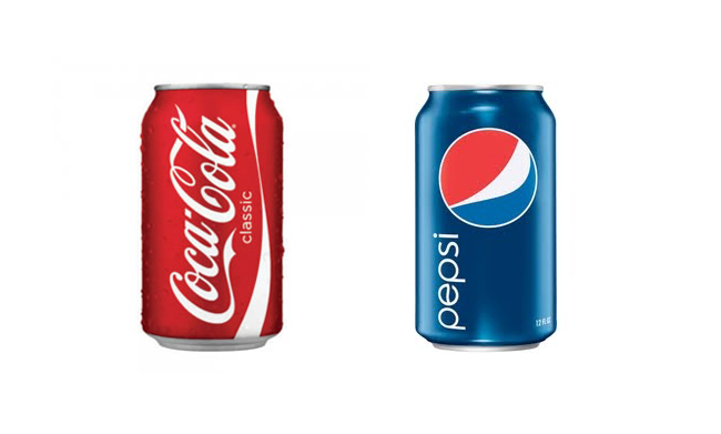 Coca-cola versus Pepsi