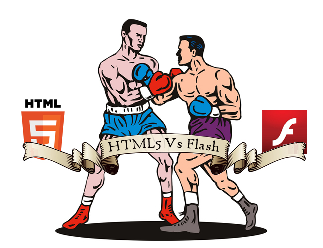 HTML5 versus Flash