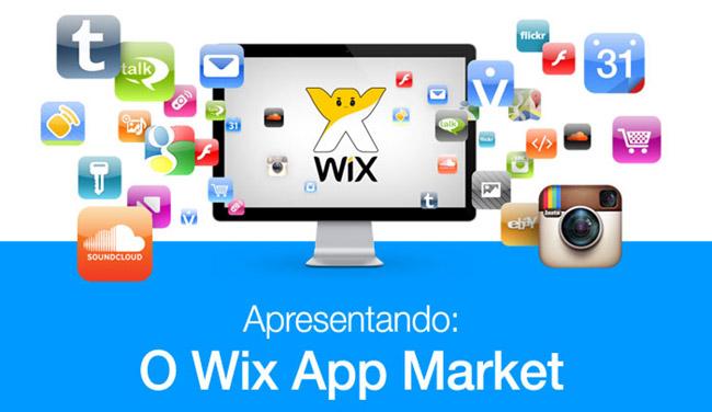 Loja de Aplicativos Wix