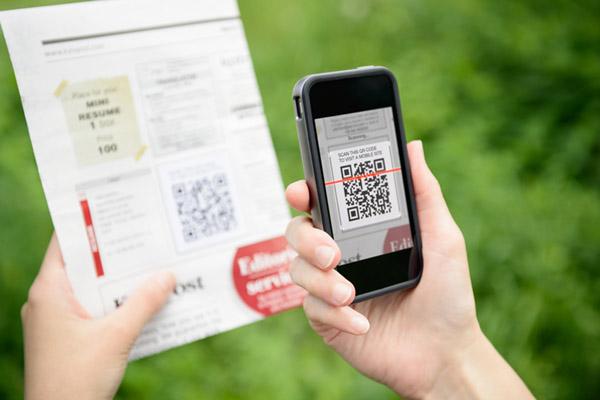 Os códigos QR são usados nào apenas para publicidade, mas para facilitar a nossa vida.
