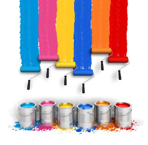 A cor certa faz você trabalhar de forma mais feliz e eficiente.