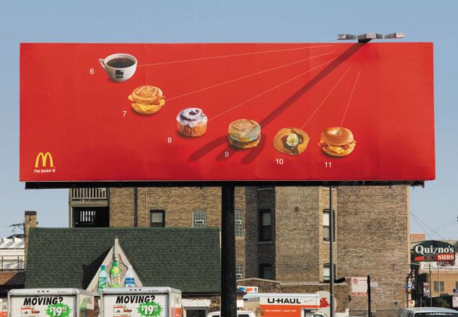 McDonald's – Relógio de Sol