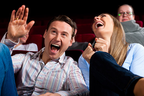 Dar uma risada é a maneira mais eficiente de melhorar o nosso humor.