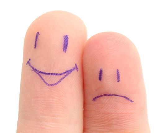 dois dedos juntos