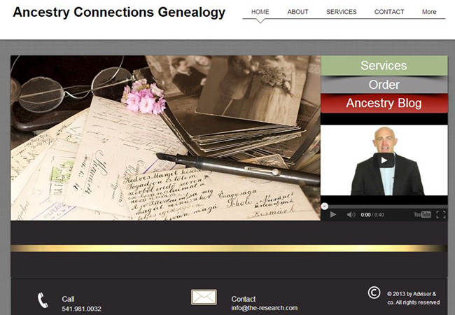 Ancestors - Serviço de Genealogia Online