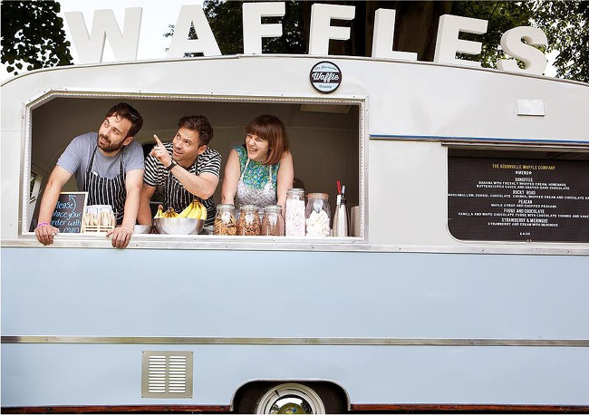 The Bournville Waffle Company - Van de Waffles