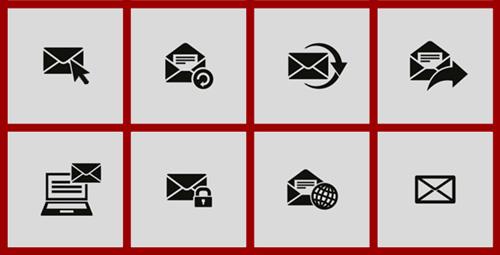 Um email personalizado tem uma aparência muito mais profissional