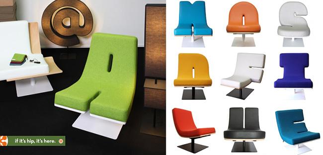 Cadeiras tipográficas